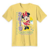 Image of Minnie Mouse Family Vacation T-Shirt for Kids - Walt Disney World 2019 - Customized # 5