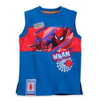 Image of Spider-Man Tank Top and Shorts Set for Boys # 2