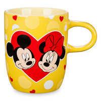 Image of Mickey and Minnie Mouse Ceramic Mug # 1