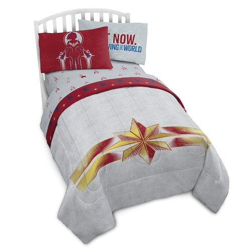 Marvel S Captain Marvel Comforter Twin Shopdisney