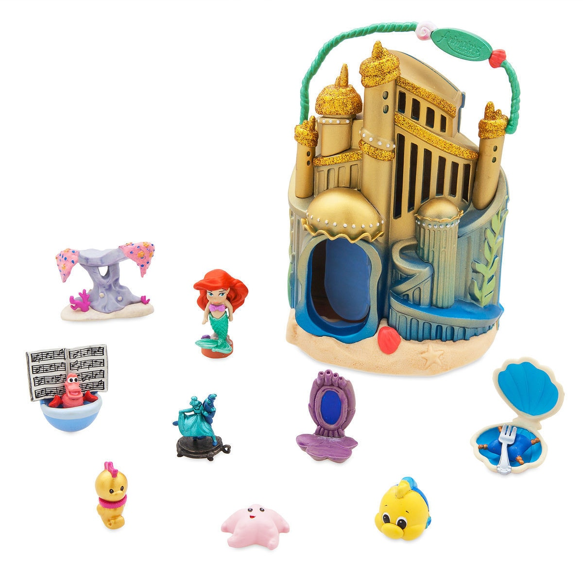 70c44c1de21 Product Image of Disney Animators  Collection Littles Ariel Micro Doll Play  Set   1