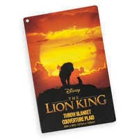 Image of The Lion King Fleece Throw  - The Lion King 2019 Film # 4