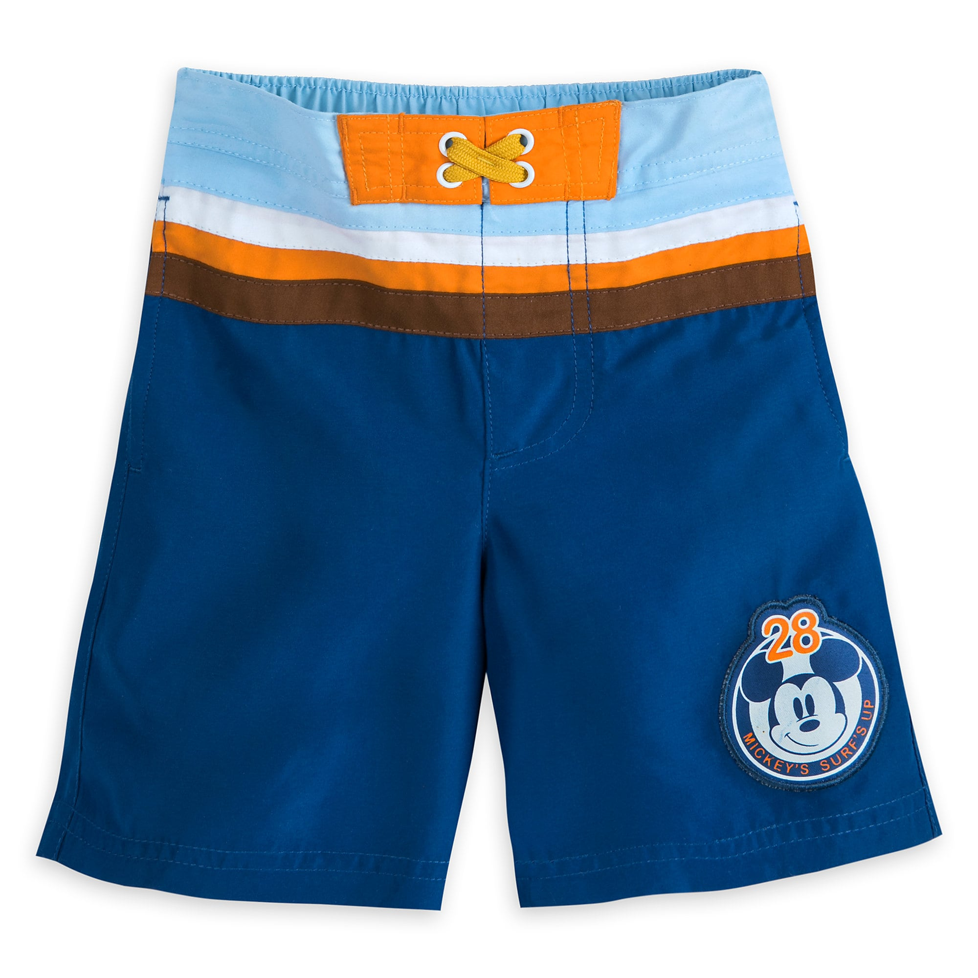1b1004e96e Mickey Mouse Swim Trunks for Boys | shopDisney