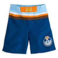 Image of Mickey Mouse Swim Trunks for Boys # 1