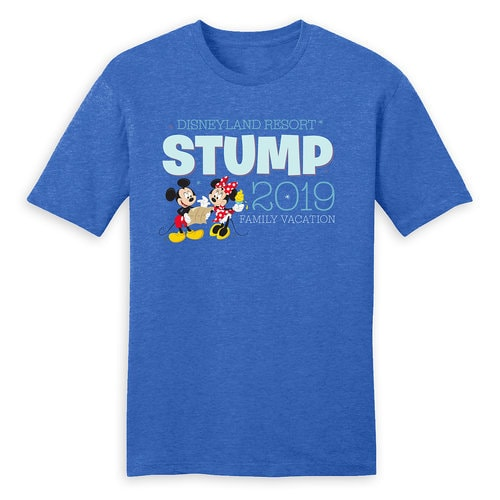 Mickey and Minnie Mouse Family Vacation T-Shirt for Men - Disneyland 2019 - Customized