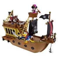 Image of Mickey Mouse Pirates of the Caribbean Pirate Ship Playset # 2