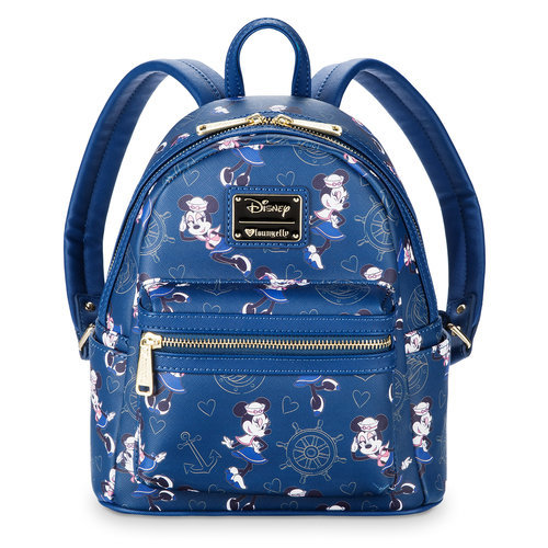 Sailor Minnie Mouse Mini Backpack By Loungefly Disney Cruise Line Shopdisney