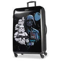 Image of Darth Vader Rolling Luggage by American Tourister - Star Wars - Large # 1