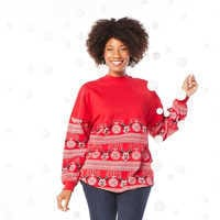 Image of Mickey Mouse Holiday Spirit Jersey for Adults # 2