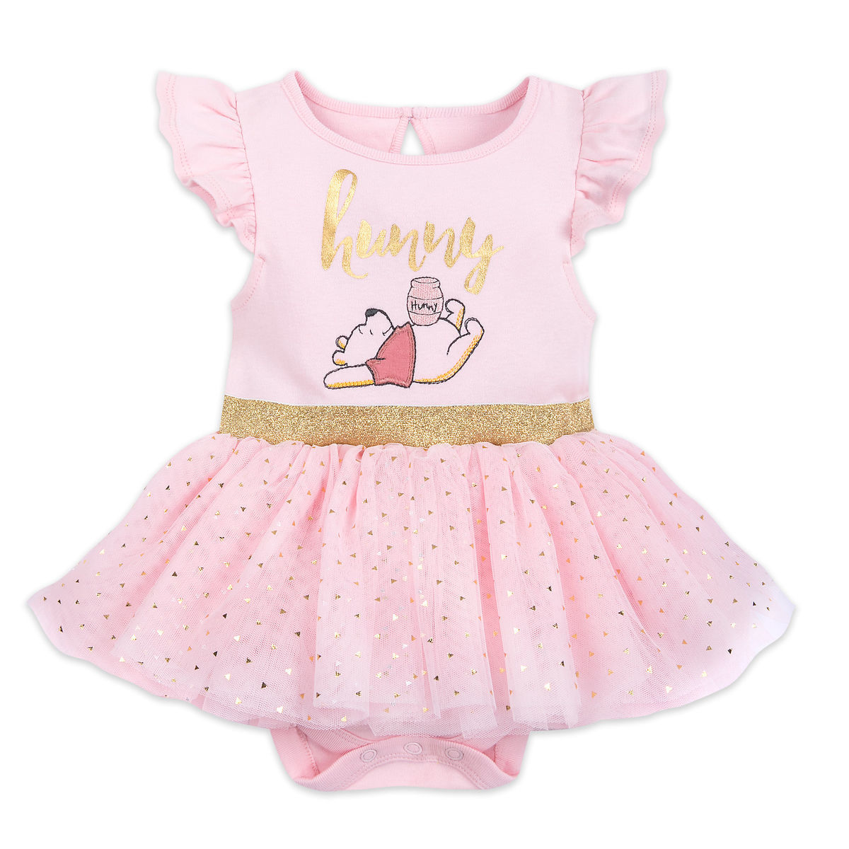 Product Image of Winnie the Pooh Tutu Bodysuit for Baby # 1