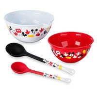 Image of Mickey Mouse Bowl and Spoon Set - Disney Eats # 2