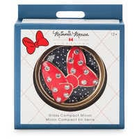 Image of Minnie Mouse Signature Glass Compact Mirror # 3