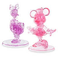 Image of Minnie Mouse and Daisy Duck 3D Crystal Puzzle Set by BePuzzled # 1