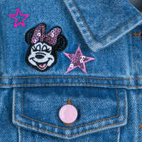 Image of Minnie Mouse Denim Jacket for Girls # 6