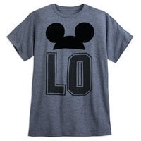 Mickey Mouse ''LO'' Couples Mouseketeer LOVE T-Shirt for Adults