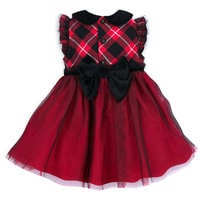 Minnie Mouse Holiday Dress and Bloomers for Baby