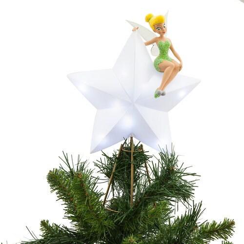 - Tinker Bell Light-Up Tree Topper ShopDisney