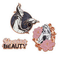Image of Sleeping Beauty Pin Set - 60th Anniversary - Limited Edition # 1