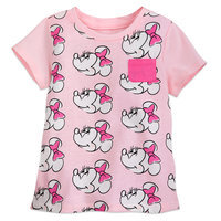 Minnie Mouse Allover T-Shirt for Girls - Pink