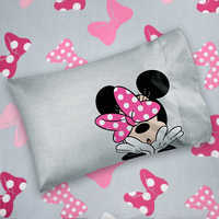 Image of Minnie Mouse Bow Sheet Set - Twin / Full # 1