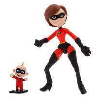 Image of Mrs. Incredible and Jack-Jack Action Figure Set - PIXAR Toybox # 1
