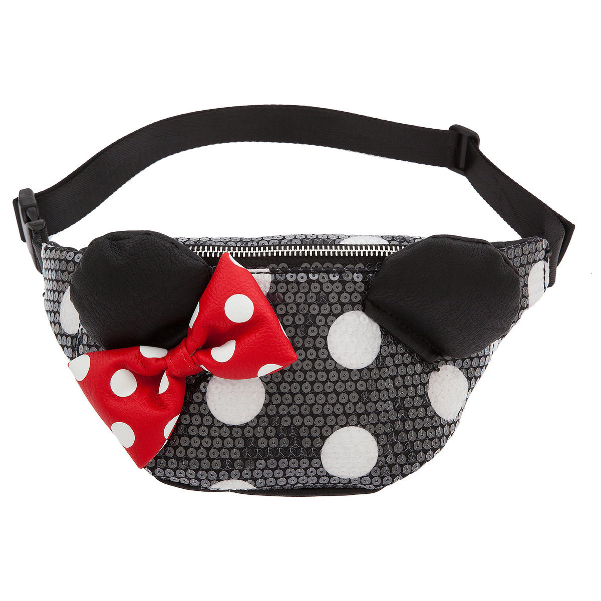12602e4a98d Product Image of Minnie Mouse Sequined Hip Pack by Loungefly   1