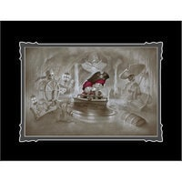 Image of Pirates of the Caribbean ''Thar' Be Pirates in These Parts'' Deluxe Print by Noah # 1