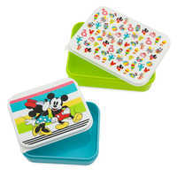 Image of Mickey and Minnie Mouse Food Storage Container Set - Disney Eats # 1