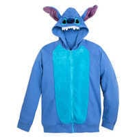 Image of Stitch Costume Hoodie for Adults # 1