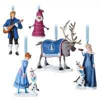 Olaf's Frozen Adventure Sketchbook Ornament Set - Limited Edition