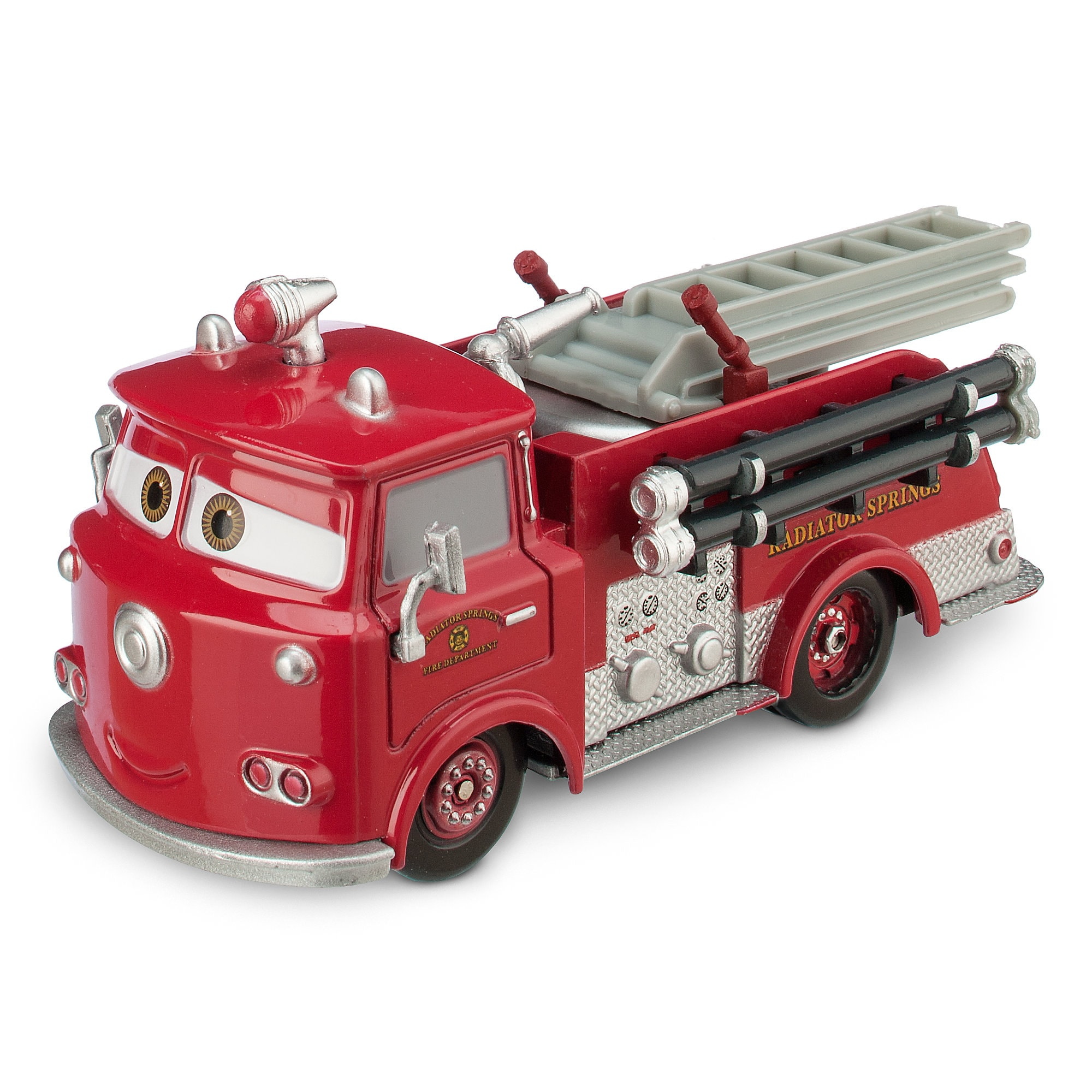 Red Die Cast Fire Engine - Cars