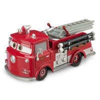 Image of Red Die Cast Fire Engine - Cars # 1
