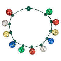 Image of Mickey Mouse Jingle Bell Light-Up Necklace # 2