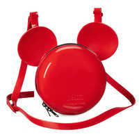 Image of Mickey Mouse Crossbody Bag by Melissa - Red # 1