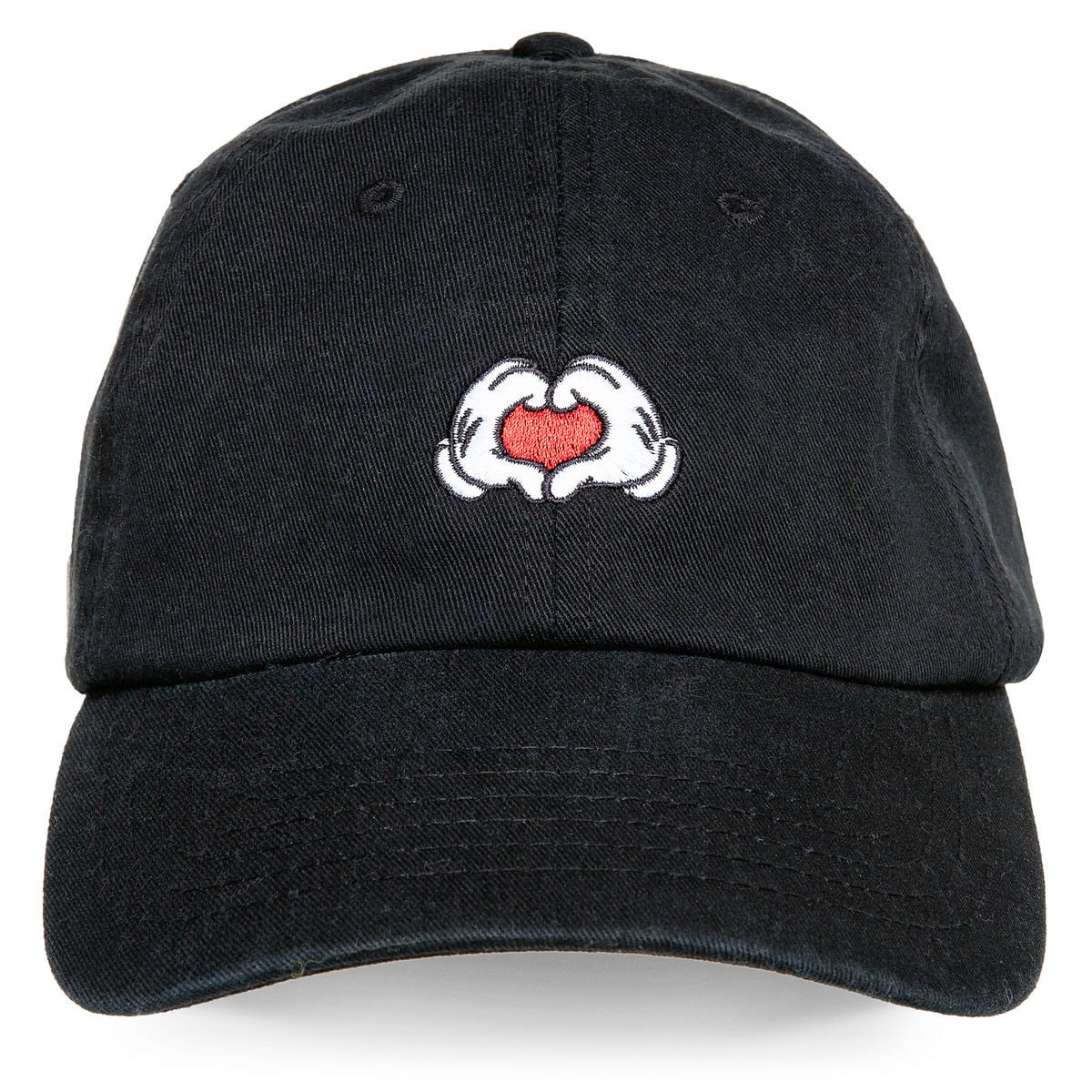 Product Image of Mickey Mouse Heart Hands Baseball Cap for Adults   1 0a6302607ed