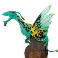 Image of Pandora - The World of Avatar Interactive Banshee Toy - Green/Yellow Variant # 3