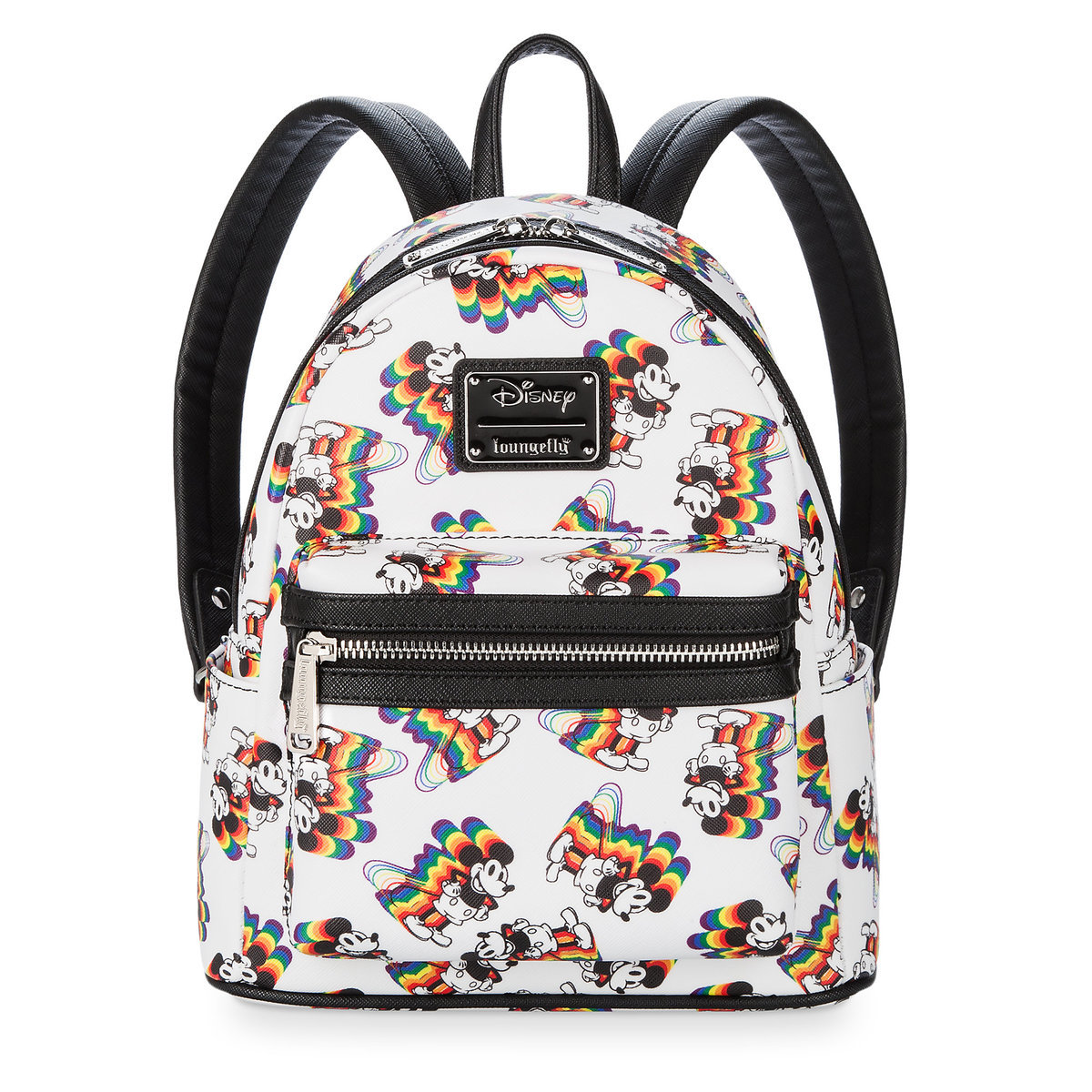 f97de7f2c04 Product Image of Mickey Mouse Rainbow Mini Backpack by Loungefly   1