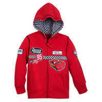 Image of Lightning McQueen Hoodie for Boys - Cars # 1