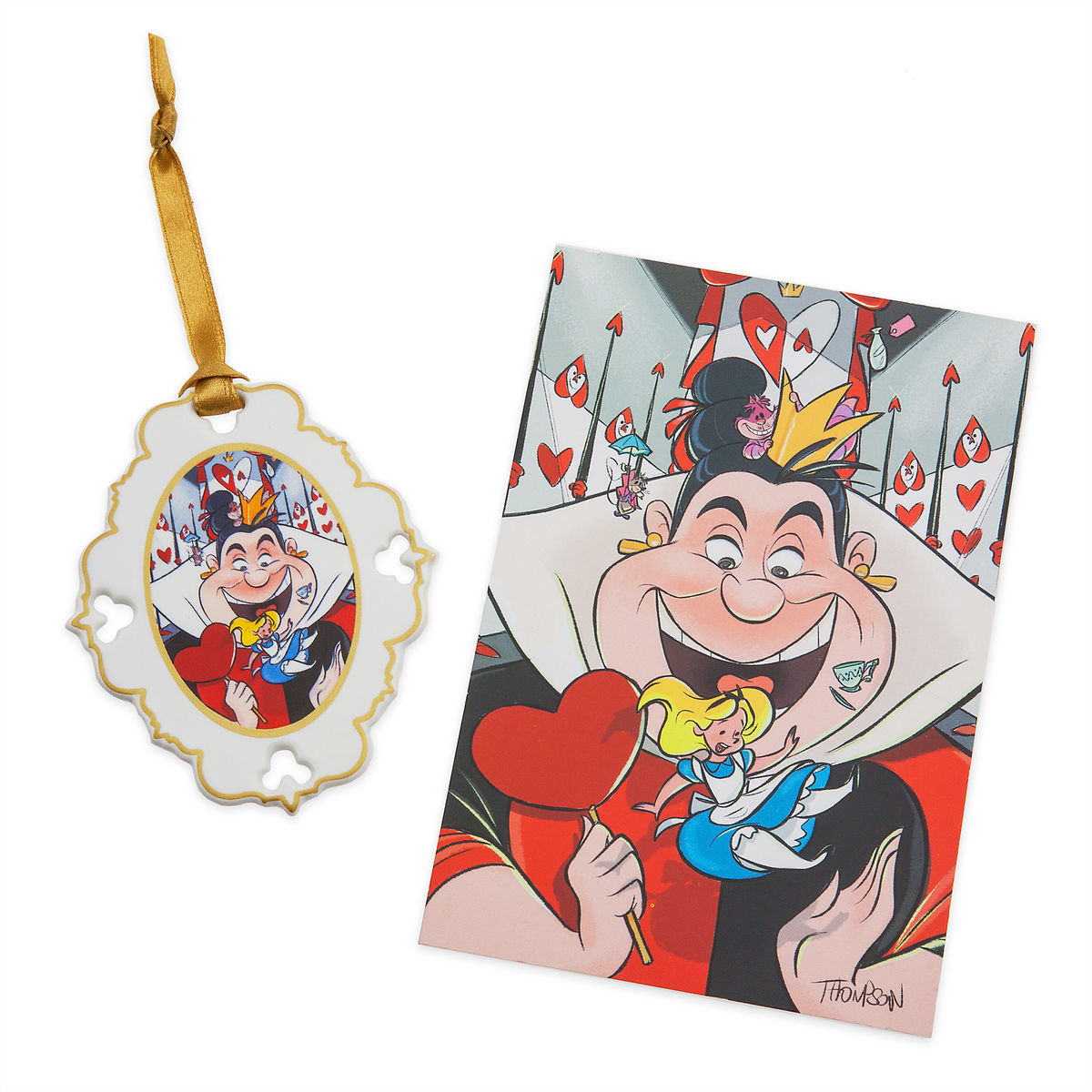 Thumbnail Image of Alice in Wonderland Artist Series Sketchbook Ornament and Lithograph Set - Limited Edition # 1