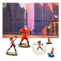 Image of The Incredibles Figure Play Set # 1