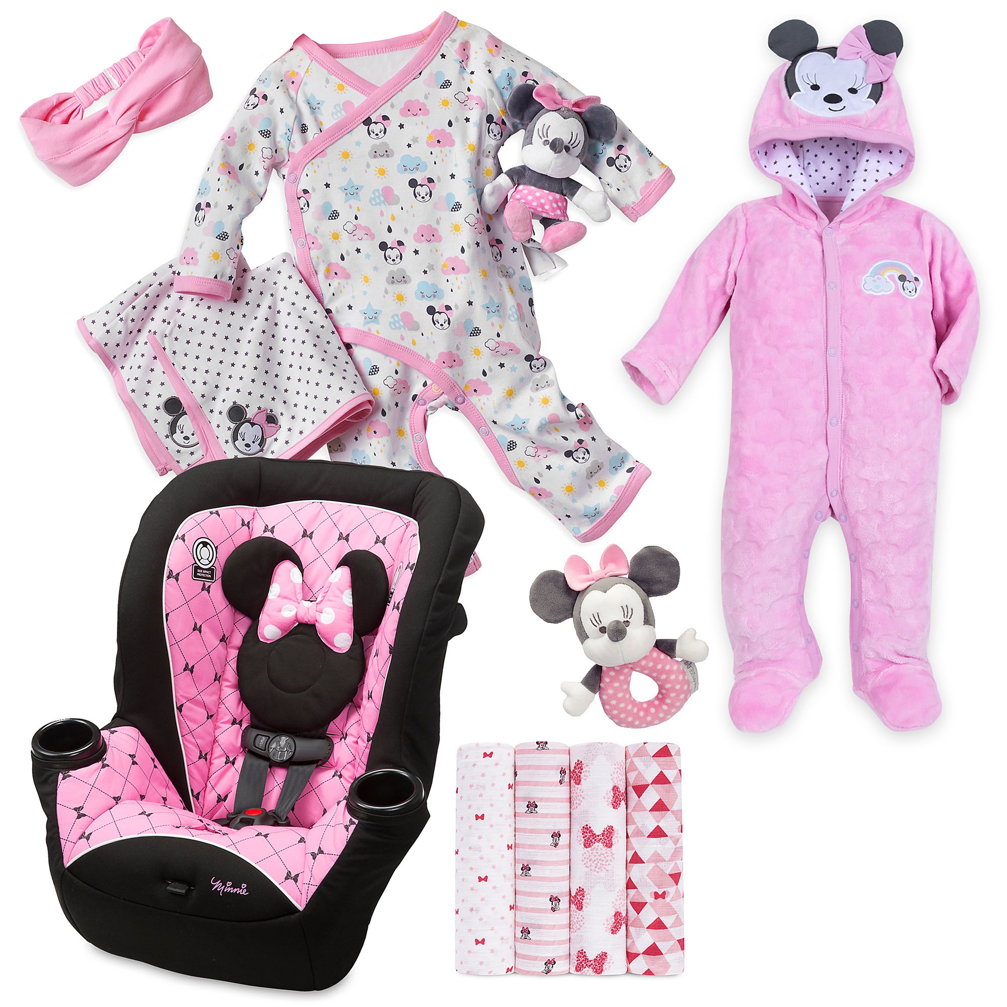 Minnie Mouse Welcome Home Gift Collection for Baby