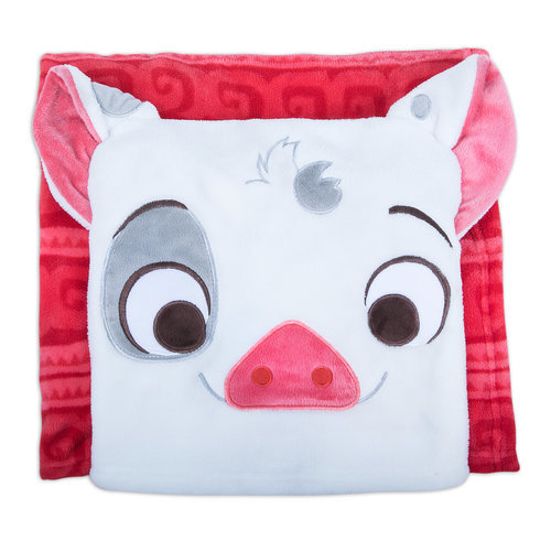 Pua Fleece Throw - Moana