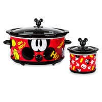 Image of Mickey Mouse Slow Cooker and Dipper Set - Disney Eats # 1