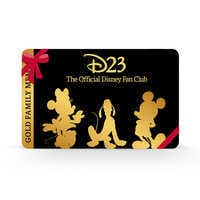 Image of D23 Gold Family Gift Membership # 1