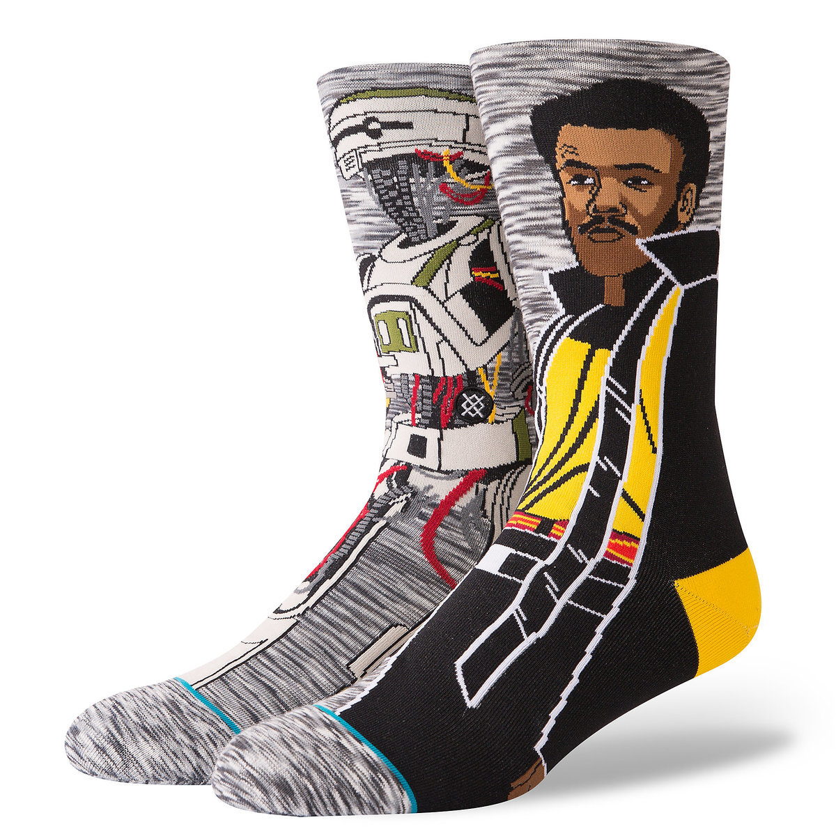1b2a66effb54 Product Image of Lando Calrissian and L3-37 Socks by Stance for Adults -  Solo