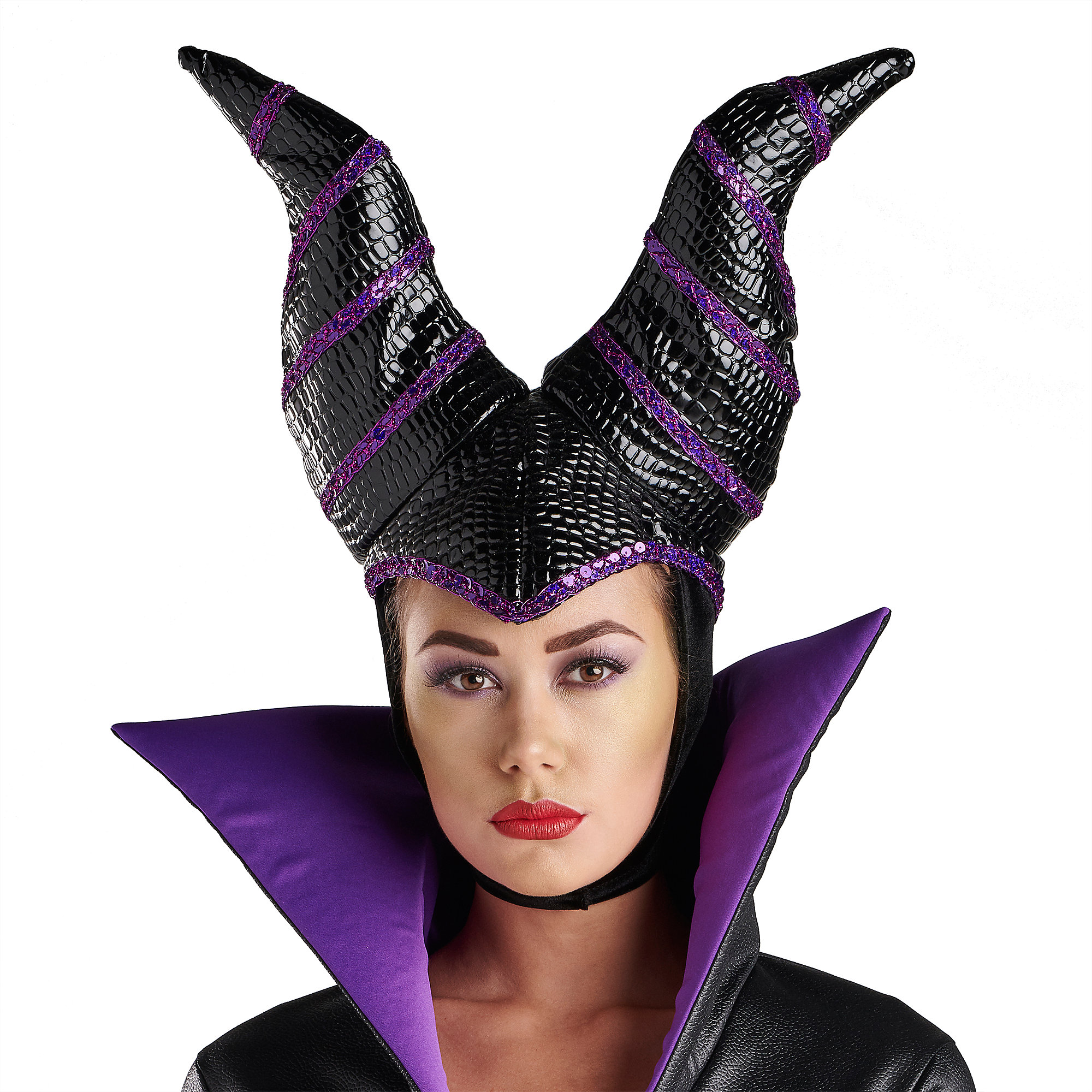 Maleficent Costume Headpiece for Adults