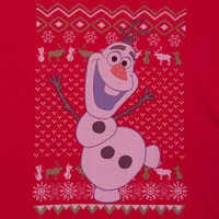Image of Olaf Holiday T-Shirt for Men - Frozen # 2