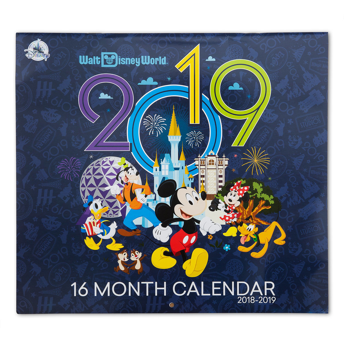 Walt Disney World 16 Month Calendar 2018-2019