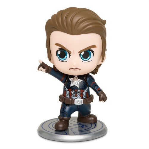 Captain America Cosbaby Bobble-Head Figure by Hot Toys - Marvel's Avengers: Endgame