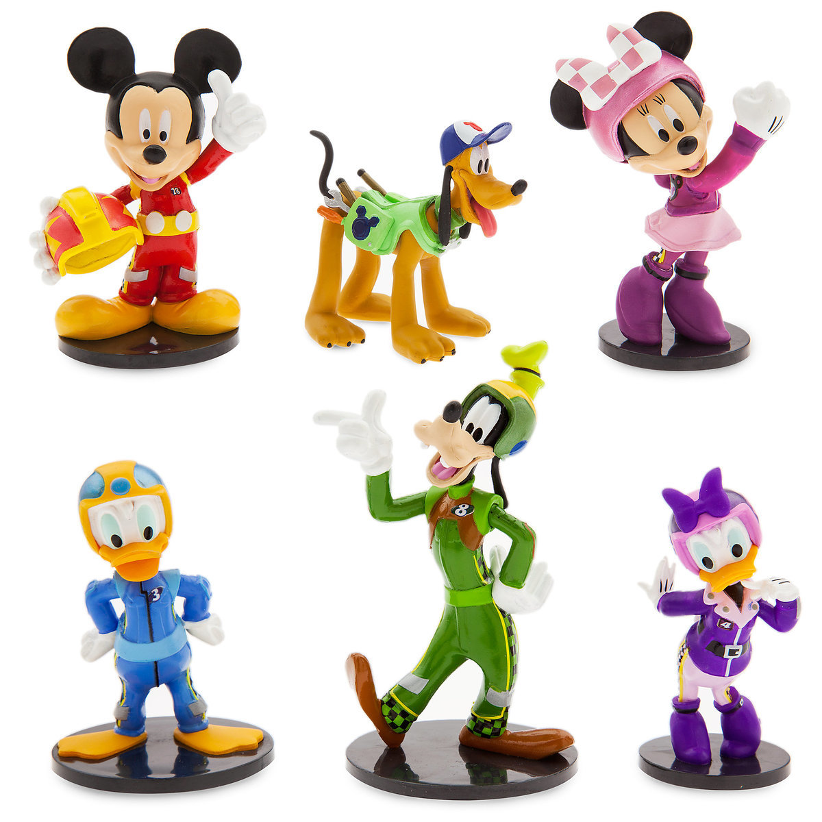 Product Image of Mickey Mouse and the Roadster Racers Figure Set # 1